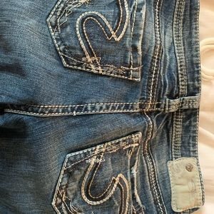 Silver jeans must have!